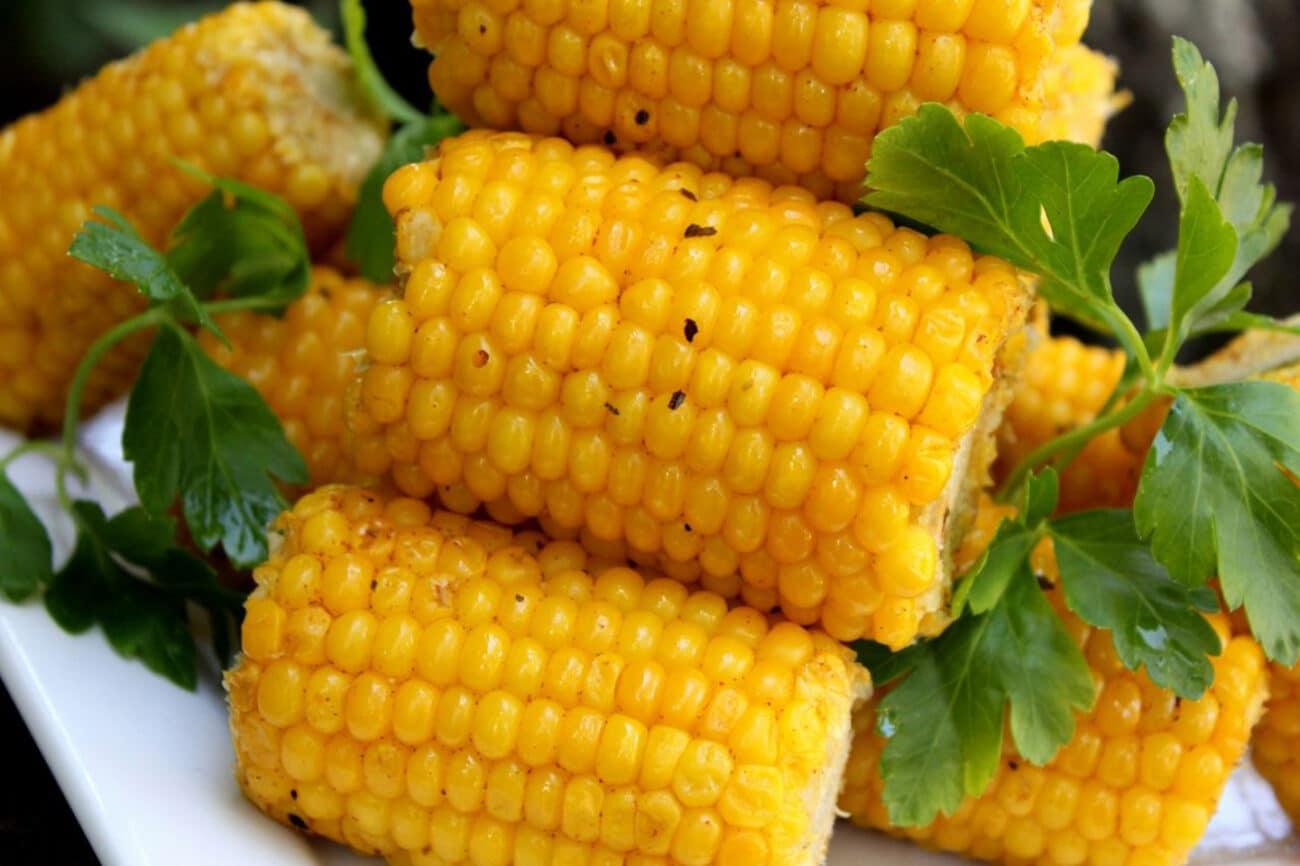 Кукуруза-гриль в початках (в фольге)