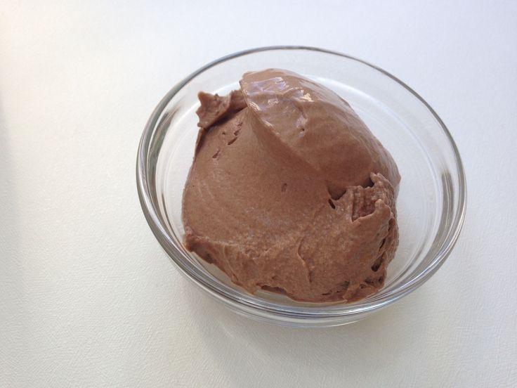 Мороженное с шоколадом на кокосовом молоке