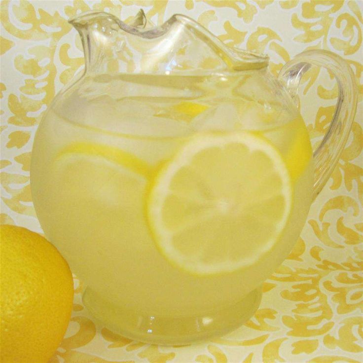 Лимонад для утоления жажды