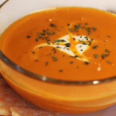 Постный морковный суп с карри - рецепт с фото
