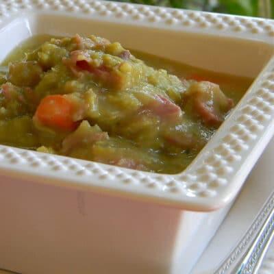 Гороховый суп на кости - рецепт с фото