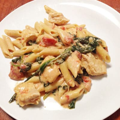 Макароны с курицей и сыром - рецепт с фото