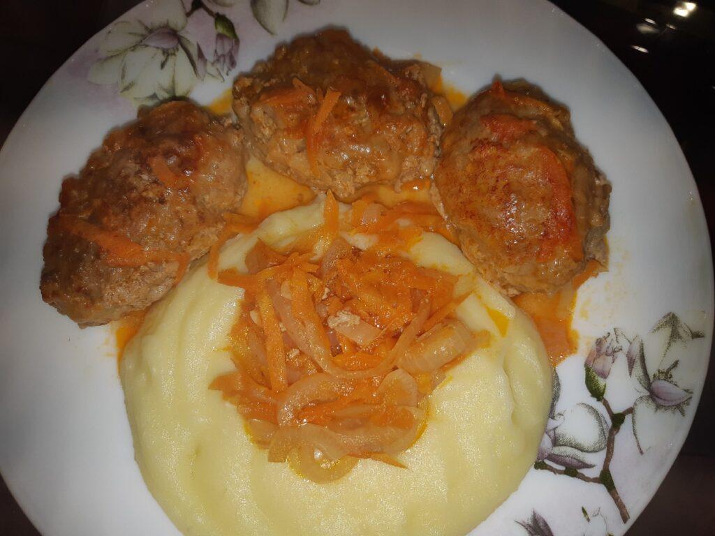Фото рецепта - Ленивые голубцы на сковороде - шаг 13