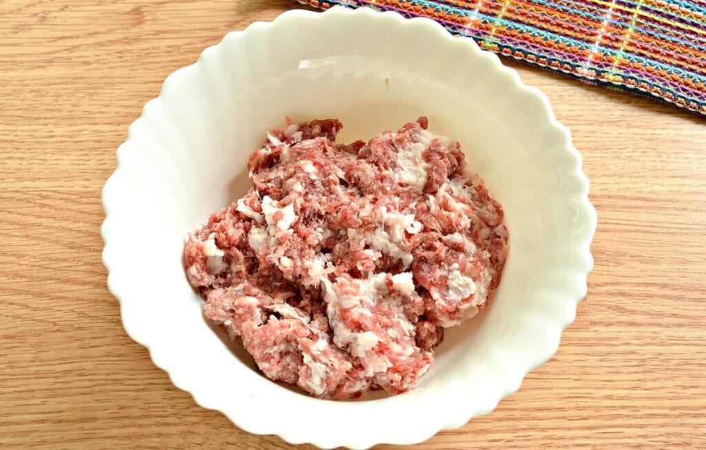 Фото рецепта - Домашние пельмени со смешанным фаршем - шаг 2