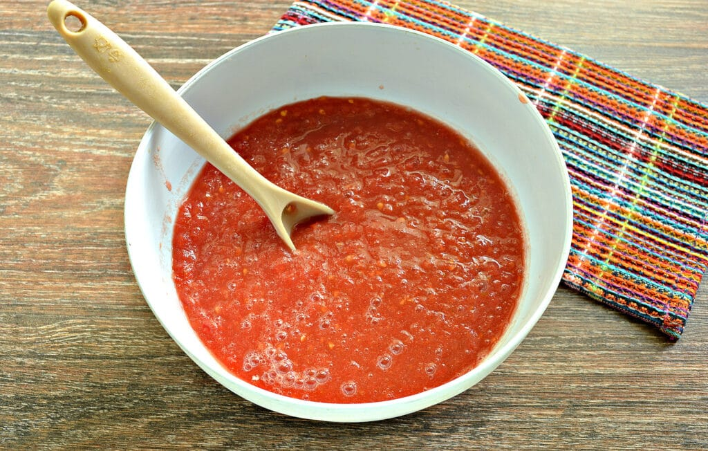 Фото рецепта - Хреновина с чесноком - шаг 2
