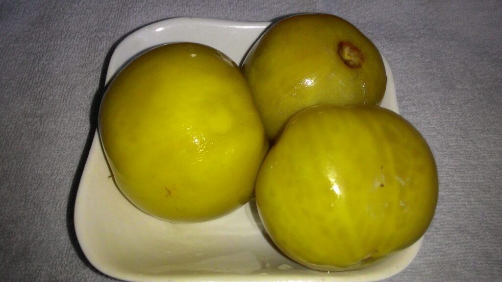 Фото рецепта - Маринованные зеленые помидоры на зиму - шаг 7