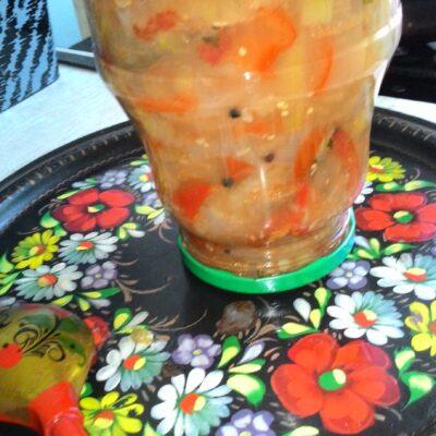 Овощное ассорти по-домашнему - рецепт с фото