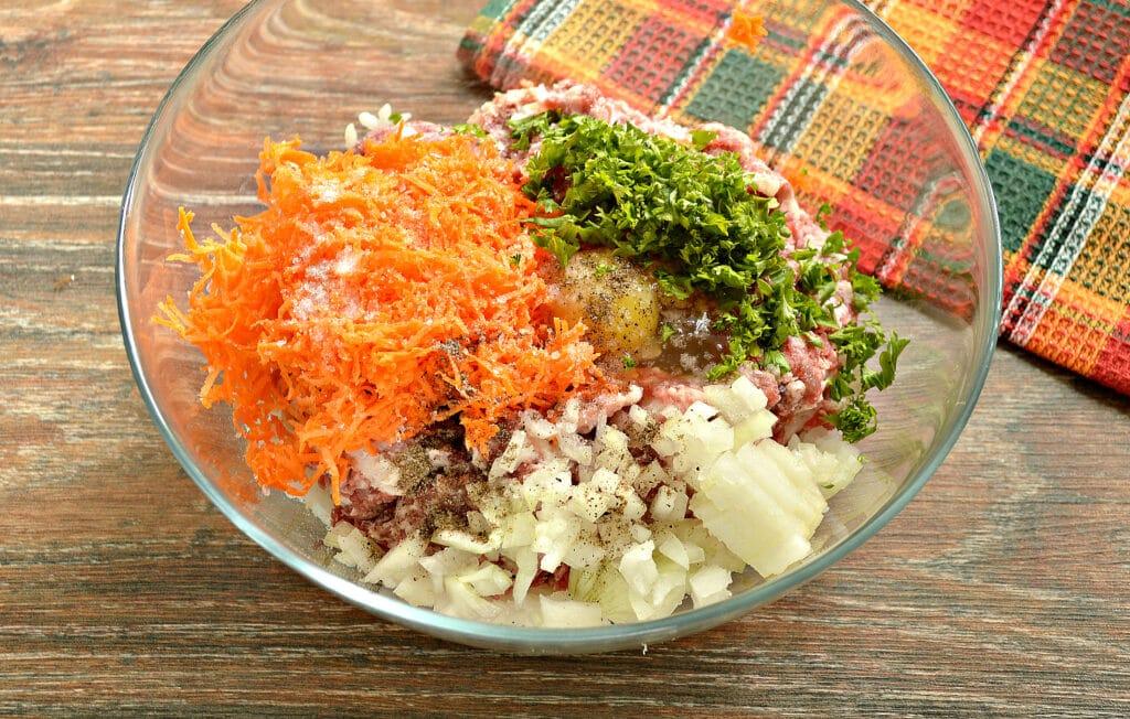 Фото рецепта - Фаршированный перец на сковороде - шаг 3