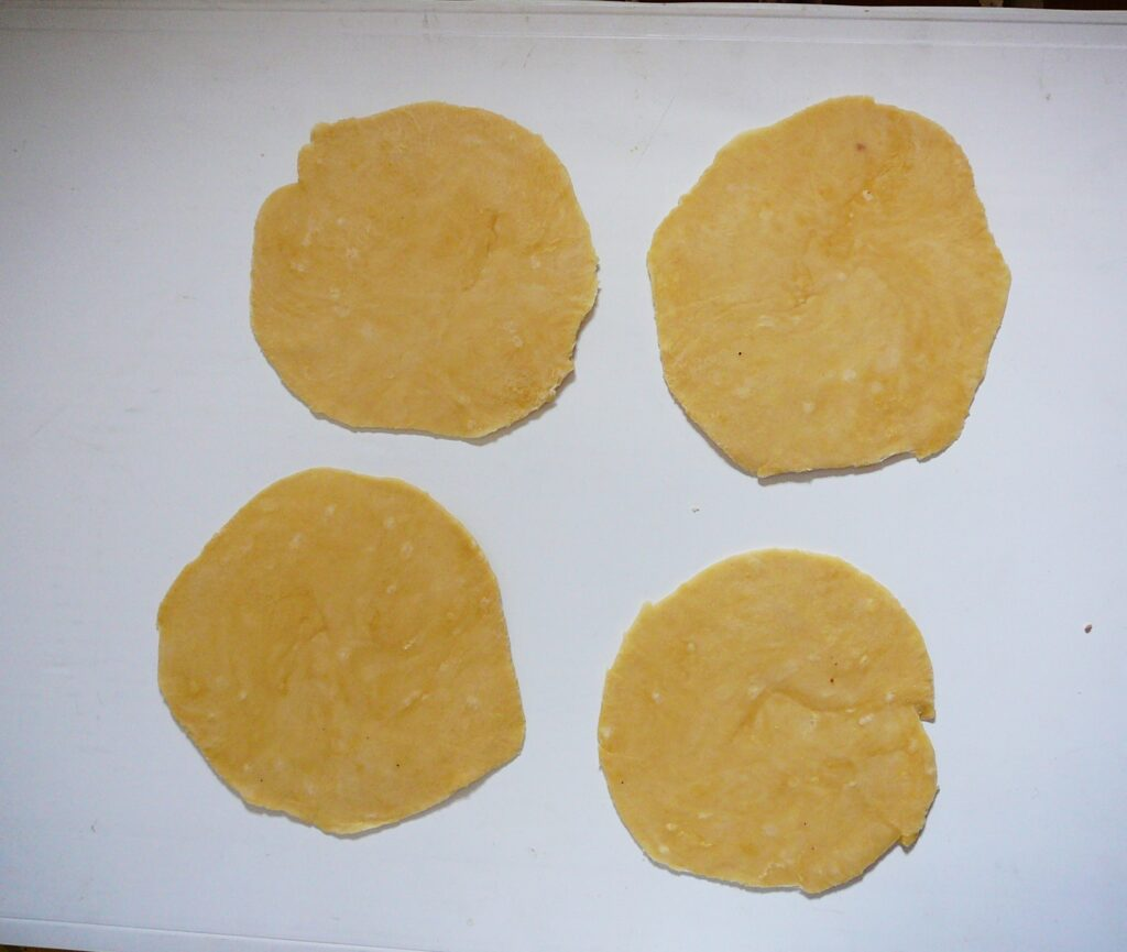 Фото рецепта - Индейские лепешки - шаг 5