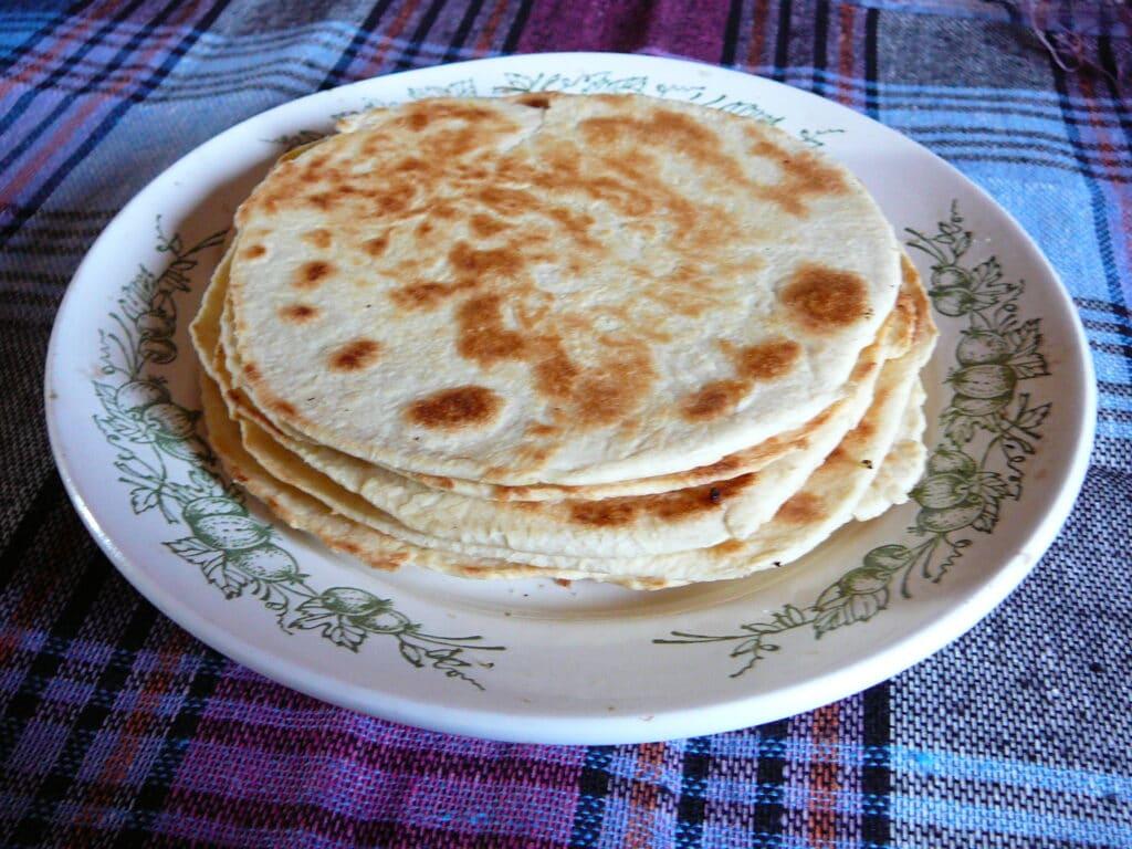 Фото рецепта - Индейские лепешки - шаг 7