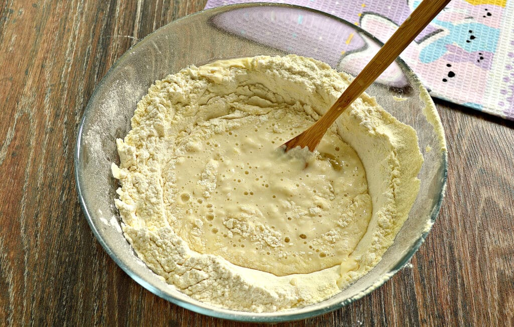 Фото рецепта - Классическое тесто для мантов - шаг 5
