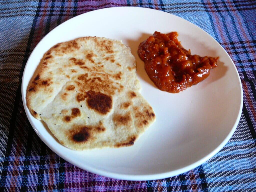 Фото рецепта - Индейские лепешки - шаг 8