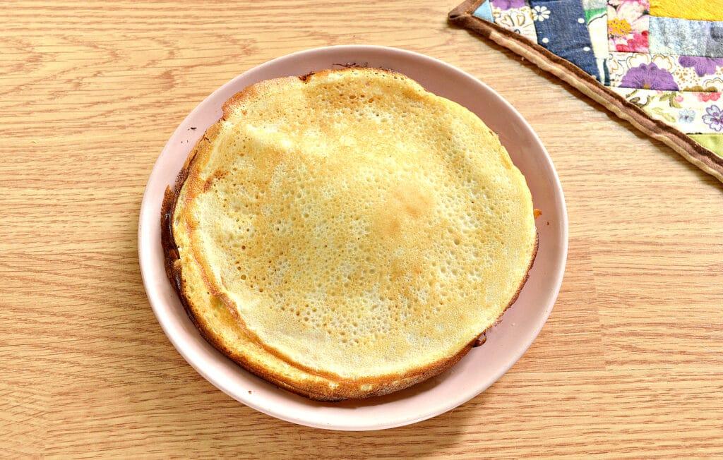 Фото рецепта - Блины с творогом в духовке - шаг 5