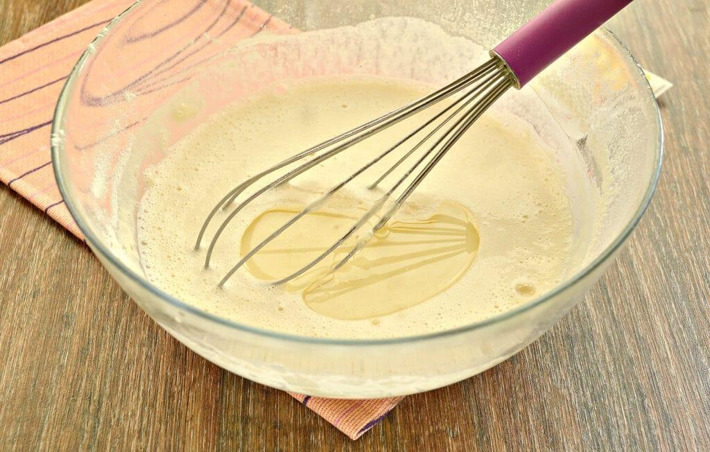 Фото рецепта - Заварные блинчики с ванилином - шаг 6