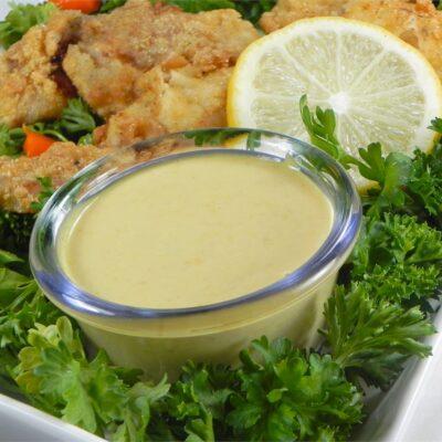 Медово-горчичный соус - рецепт с фото