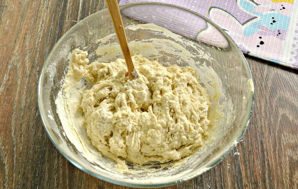 Фото рецепта - Классическое тесто для мантов - шаг 6