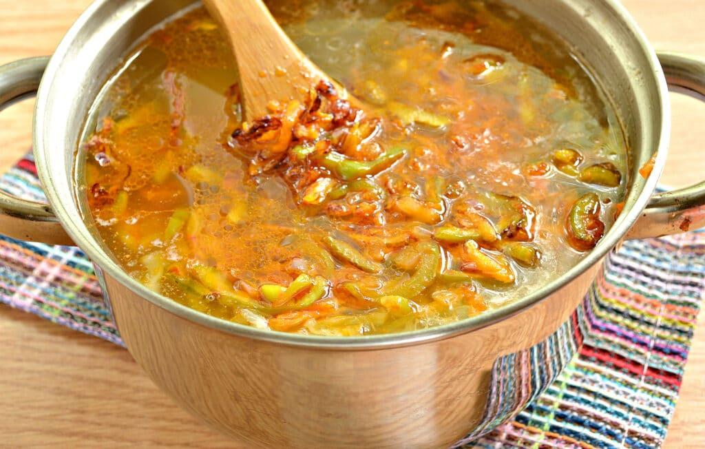 Фото рецепта - Щи с болгарским перцем - шаг 6