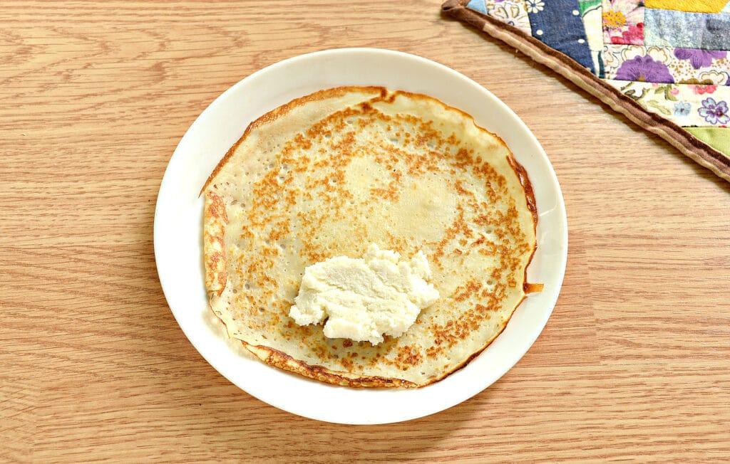 Фото рецепта - Блины с творогом в духовке - шаг 6