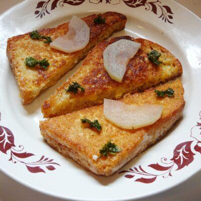 Гренка-бутерброд - рецепт с фото