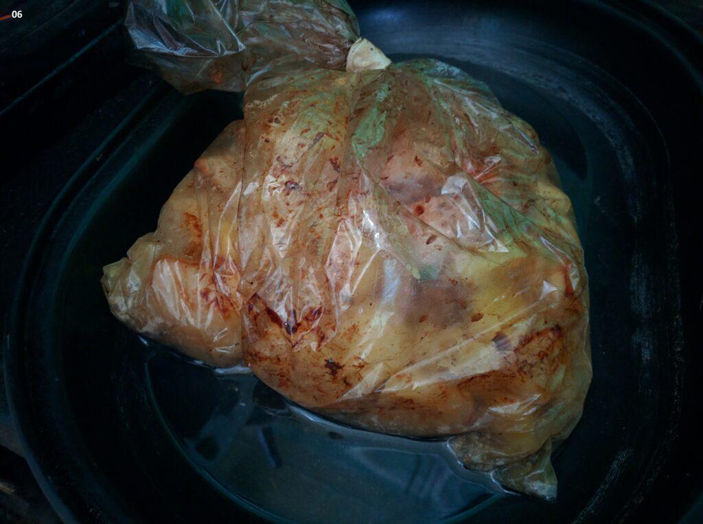 Фото рецепта - Грудка с картофелем, запеченная в молочно-соевом соусе - шаг 7