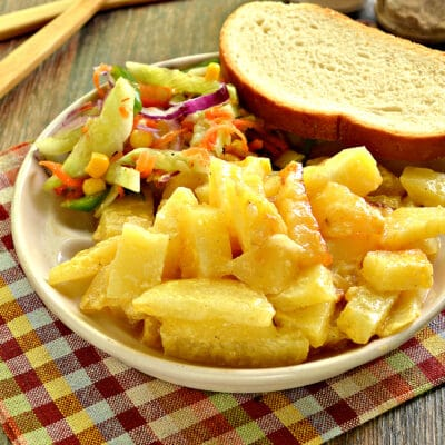 Картофель с майонезом в мультиварке - рецепт с фото