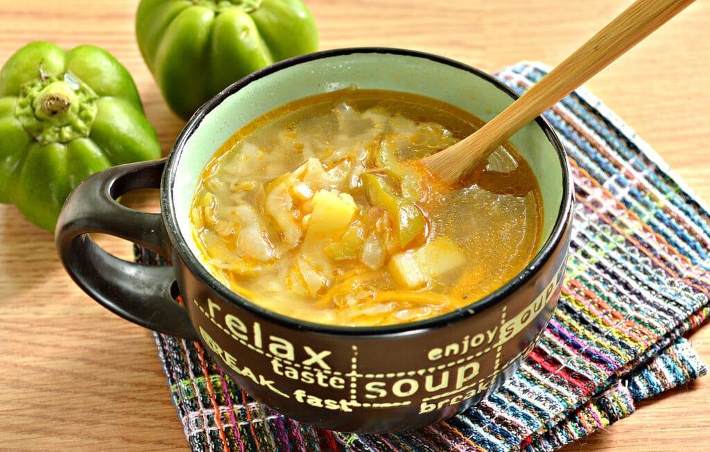 Фото рецепта - Щи с болгарским перцем - шаг 7