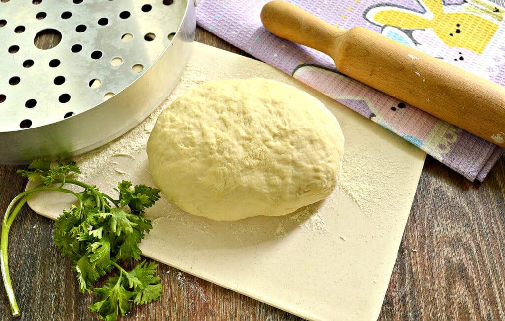 Фото рецепта - Классическое тесто для мантов - шаг 8