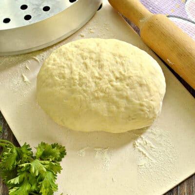 Классическое тесто для мантов - рецепт с фото