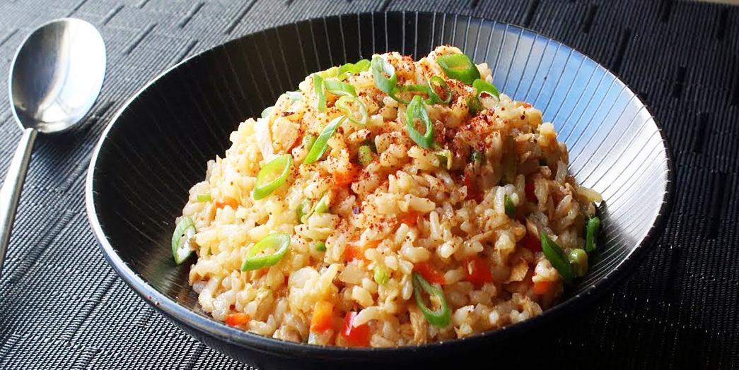 Острый рис с тунцом