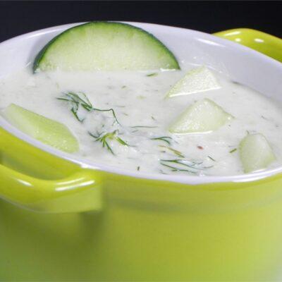 Греческий соус цацики из огурцов - рецепт с фото