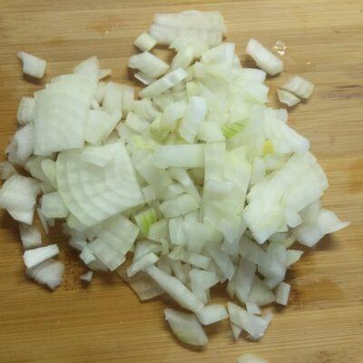 Фото рецепта - Кукурузная каша с сушеными лесными грибами - шаг 2