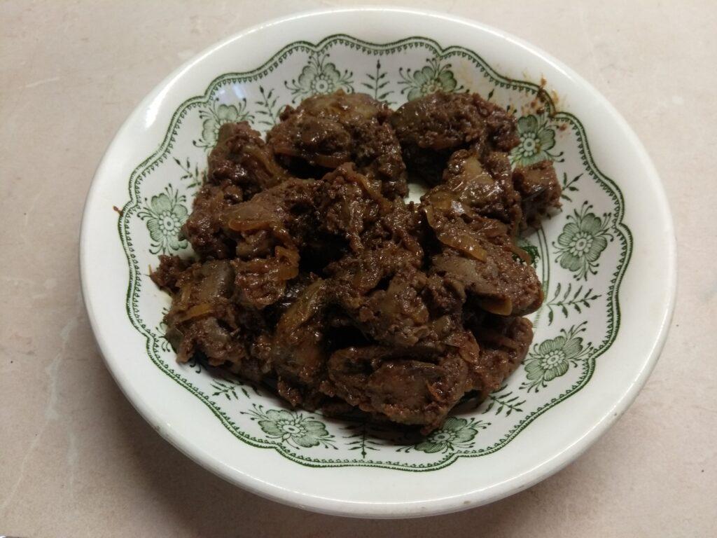 Фото рецепта - Перец, фаршированный гречкой и куриной печенью - шаг 2
