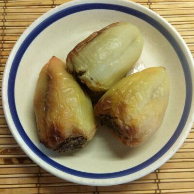 Перец, фаршированный гречкой и куриной печенью - рецепт с фото