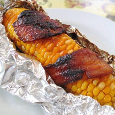 Кукуруза в беконе, на гриле - рецепт с фото