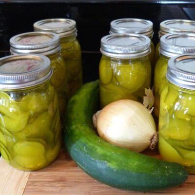 Маринованные огурцы в горчичном соусе - рецепт с фото