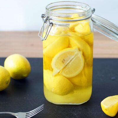 Марокканские консервированные лимоны - рецепт с фото