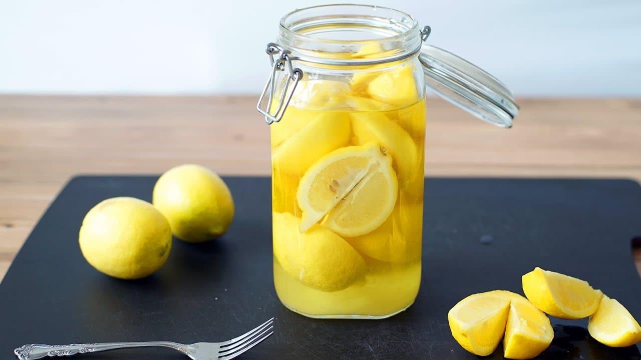 Марокканские консервированные лимоны