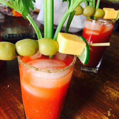 """Безалкогольный напиток """"Кровавая мери"""" - рецепт с фото"""