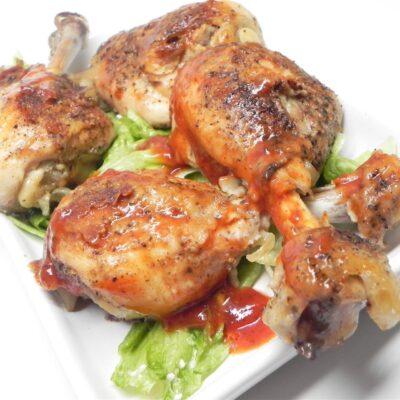 Куриные ножки в духовке (медленного приготовления) - рецепт с фото