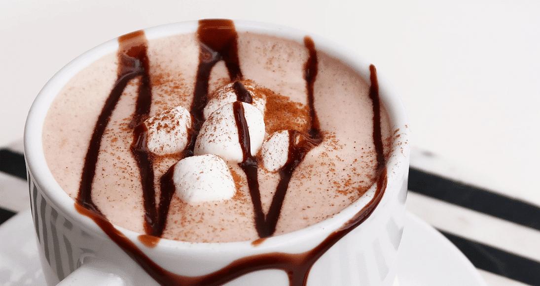 Горячий шоколад на молоке