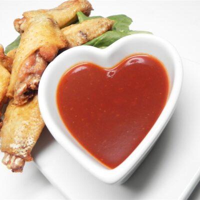 Сладко-острый соус к куриным крылышкам - рецепт с фото