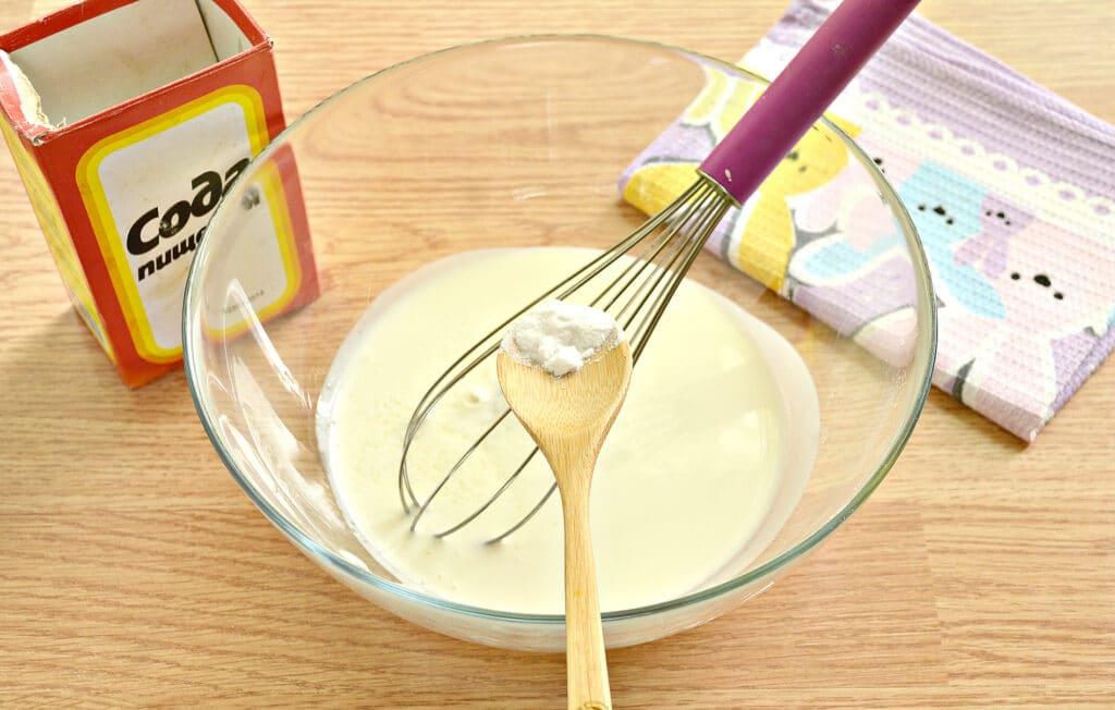 Фото рецепта - Тесто для пирогов без дрожжей на кефире - шаг 1