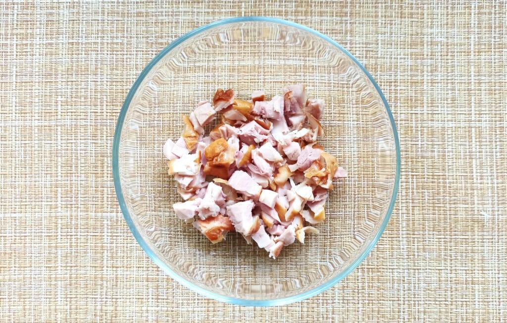 Фото рецепта - Мексиканская кесадилья с копченой курицей - шаг 1