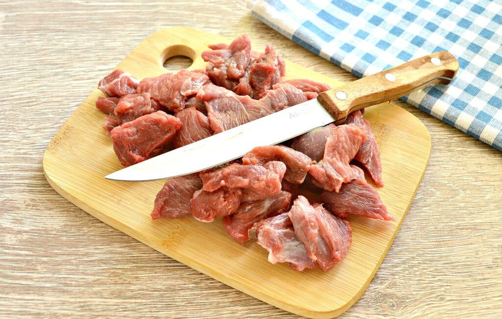 Фото рецепта - Овощное рагу с говядиной в мультиварке - шаг 1