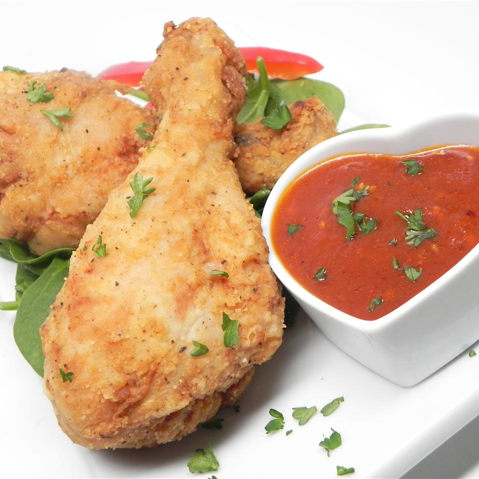 Куриные голени с томатно-чесночным соусом