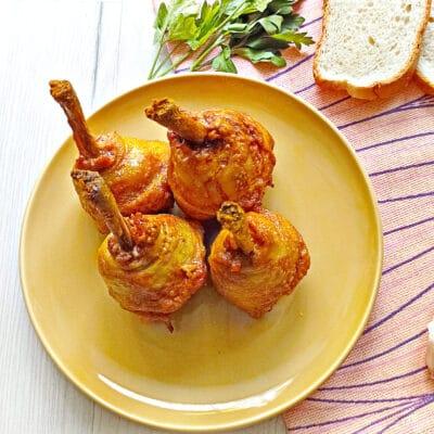 Куриные ножки в духовке - рецепт с фото
