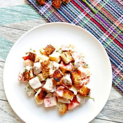 Салат с мясом на пару, помидорами и сыром - рецепт с фото