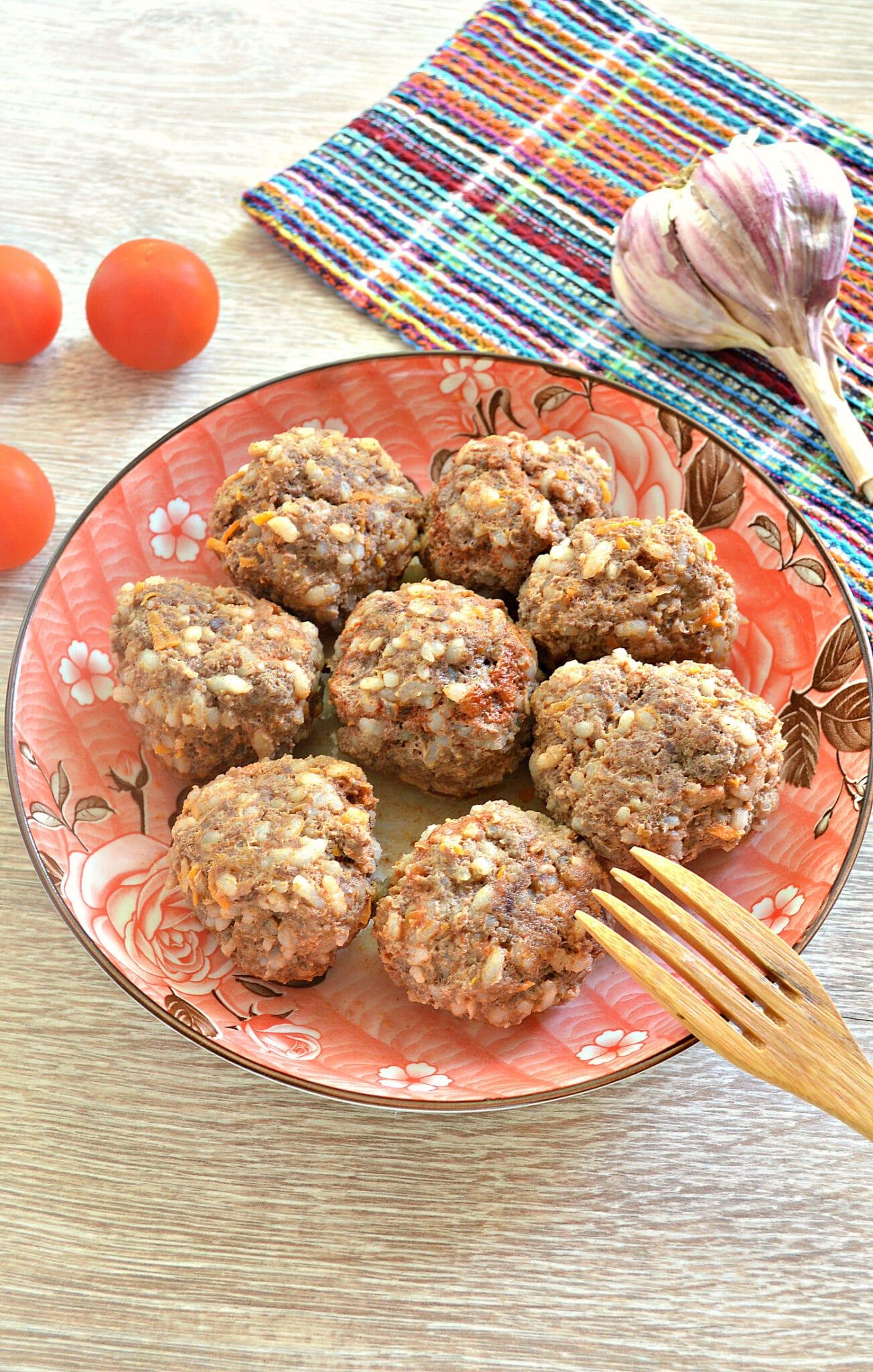 Тефтели из говядины рецепт с фото пошагово