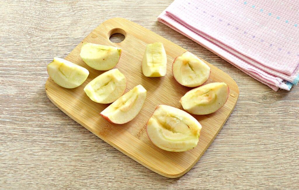 Фото рецепта - Замороженные яблоки на зиму для компота и пирогов - шаг 3