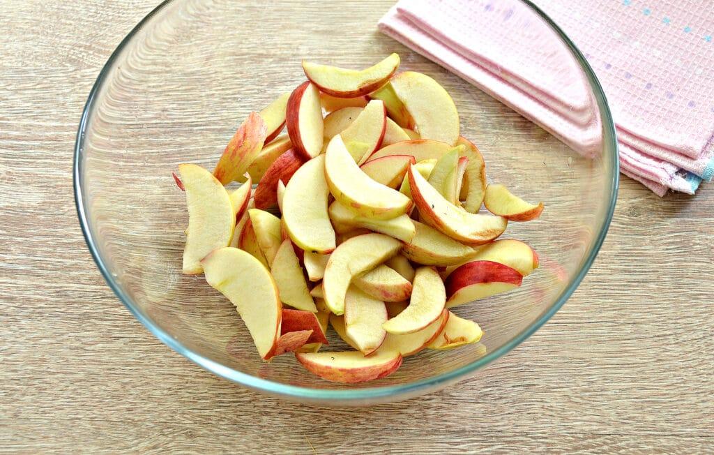 Фото рецепта - Замороженные яблоки на зиму для компота и пирогов - шаг 4